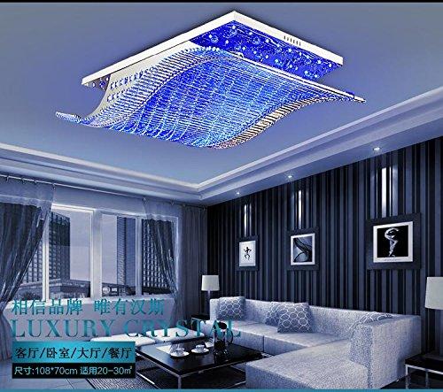 LingTM Kristall Zeitgenössische Moderne LED-Deckenleuchte-Erröten ...