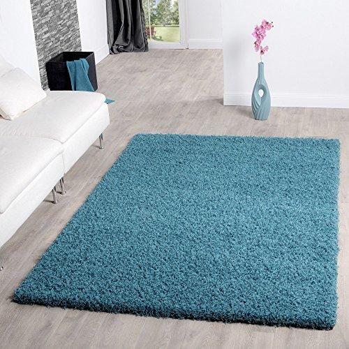 shaggy teppich hochflor langflor teppiche wohnzimmer preishammer versch farben farbe tuerkis. Black Bedroom Furniture Sets. Home Design Ideas